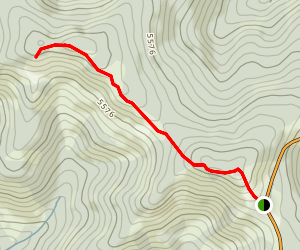 Porcupine Hills Ridge Trail Map