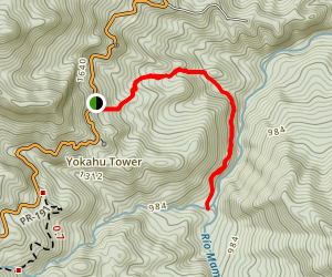 Vereda La Coca Trail Map