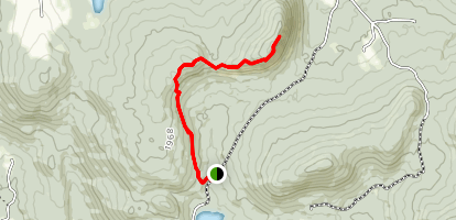 Wheeler Mountain Trail Map