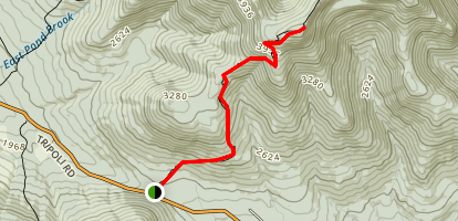 Mount Osceola Peak Map