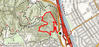 Beacon Hill Loop Trail Map