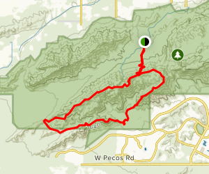 Ranger, Praymid, Bees Knees National Trail Loop Map