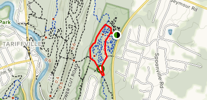 Cowles Park Yellow Loop Map