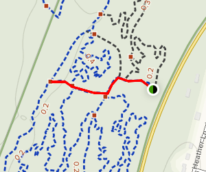 Cowells Park Red Trail Map