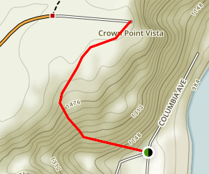 Crown Point Vista Map