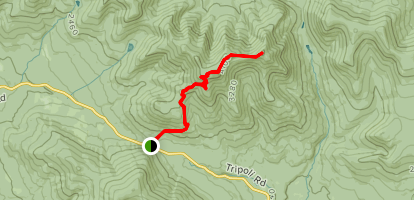 Mount Oseloa and East Oseloa Map