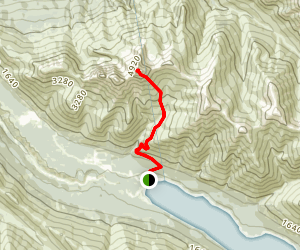 East Twin Peak Trail Map