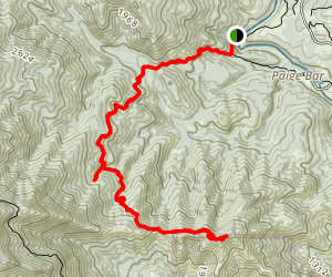 Kanaka Peak Trail Map