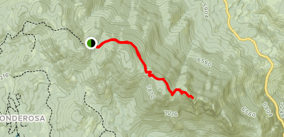 The Needles Trail Map