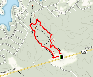 Gordon Flank Attack Trail Map