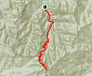 Wesser Creek Trail Map