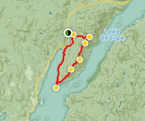 Tongue Mountain Range Loop Trail Map