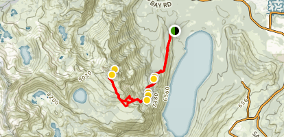 Mount Tallac Trail Map