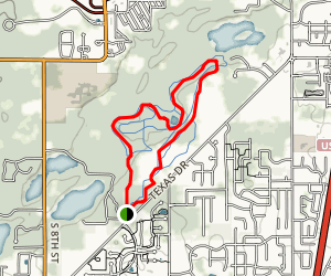 Atwater Loop Trail Map