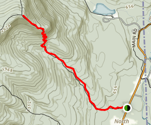 Mount Meader Trail Map