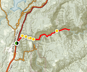 Stevens Trail Map