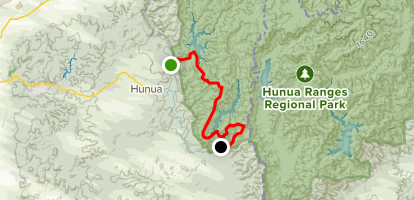 Wairoa Cossey Track to Wairoa Loop {CLOSED} Map