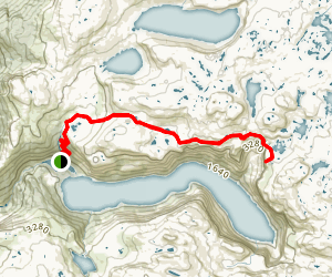 Trolltunga Trail Map