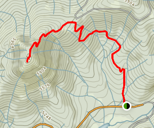 Grass Valley Bald Mountain Map
