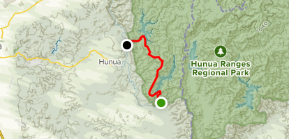 Wairoa Cossey Track {CLOSED} Map