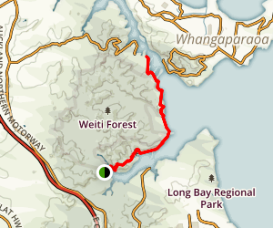 Okura Bush Walkway to Stillwater Map