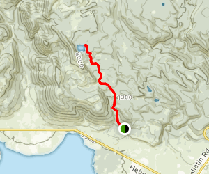 Johnson Lake Trail Map