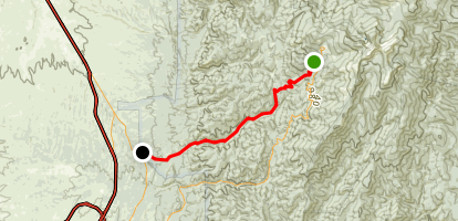 Winsor Trail Map