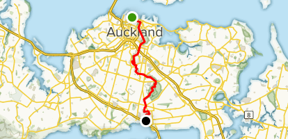 Auckland Coast to Coast Walkway [CLOSED] Map