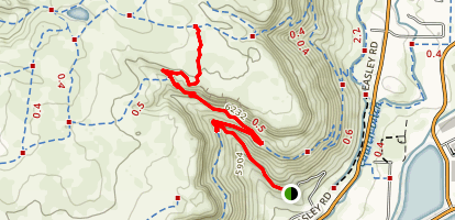 Cottonwood Canyon Trail Map