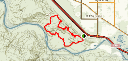 Mary's and Moore Fun Loop Trail Map
