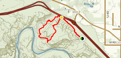 Troybuilt and Lions Loop Map