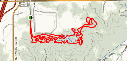 Merrell Trail Map