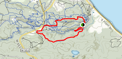 Mount Marquette Loop Map