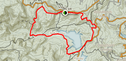 Lower Nihotupu Reservoir  Map
