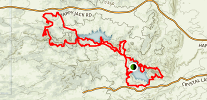 Curt Gowdy MTB Loop Map