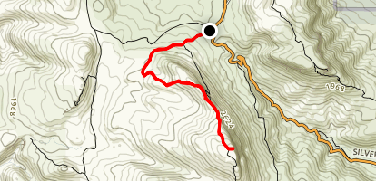 Mount Rosea Track Map