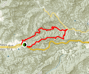 Kitsuma and Point Lookout Loop Map