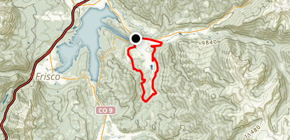 Soda Creek Loop Trail Map