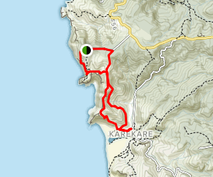 Log Race Road to Karekare Loop {CLOSED} Map
