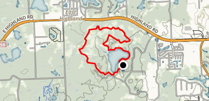 Haven Hill Outer Loop Map