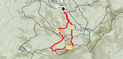 Round Top Loop via Braydon Trail Map