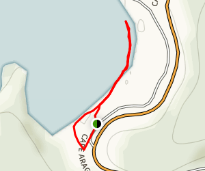 Sunset Bay Beach Trail Map