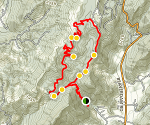 Rough Creek Watershed Loop Map