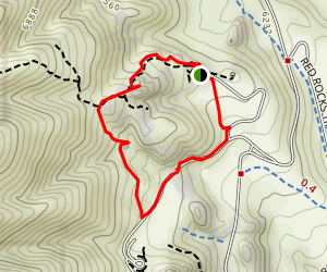 Geological Overlook Trail Map