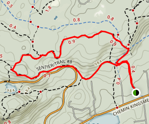 Wattsford's Lookout and Trail #17 Loop Map