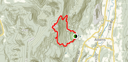 Bellows Pipe, Thunderbolt, Gould Trail Map
