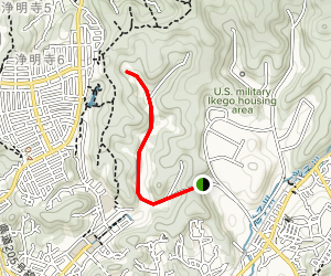 Ikego Campgrounds Walking Trail Map