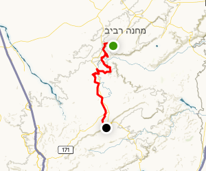 Negev Highland Trail Map