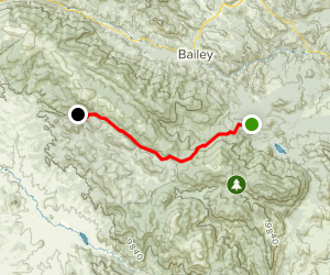Colorado Trail : Segment 4 Map