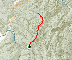 Holter Ridge Trail Map